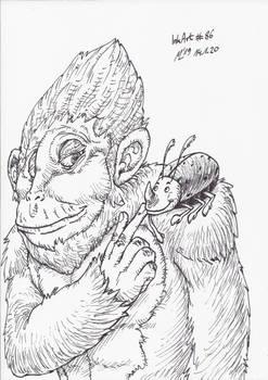 InkArt #86: Bobo und Beetle