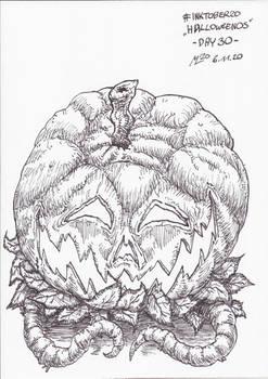 #INKTOBER20 -Halloweenos- Day 30