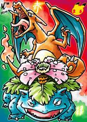 Pokemon 25th Anniversary Artwork | #Pokemon25
