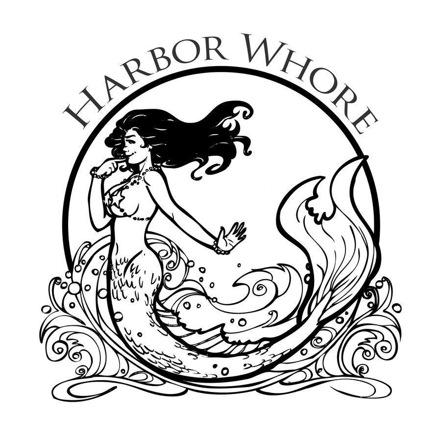 Harbor Whore Logo by Briansbigideas