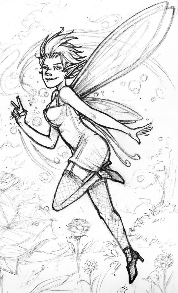 Fairy Pinup by Briansbigideas