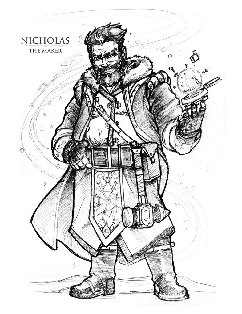 Nicholas The Maker by Briansbigideas
