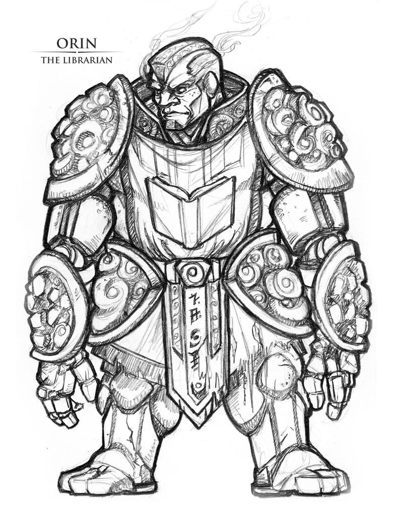 Orin-The-Librarian by Briansbigideas