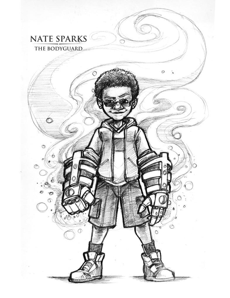 Nate-Sparks-The-Bodyguard by Briansbigideas