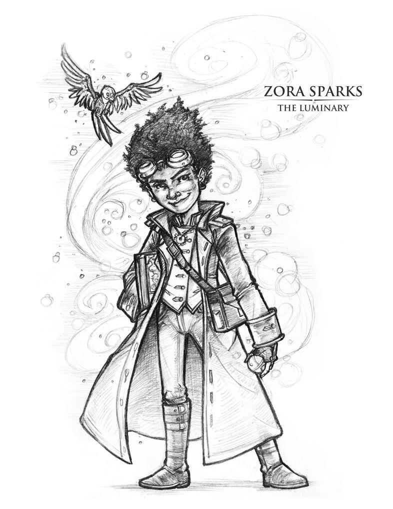 Zora-The-Luminary by Briansbigideas