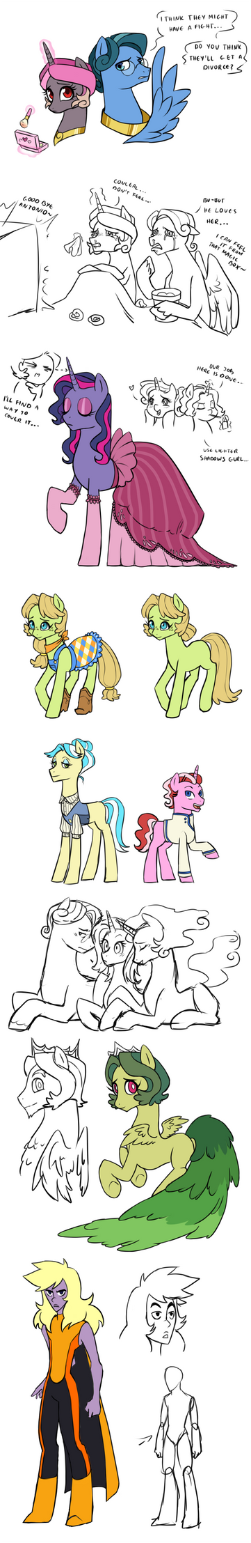 Another doodles by Pikokko