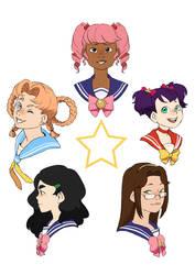 Starlight Maidens by Pikokko