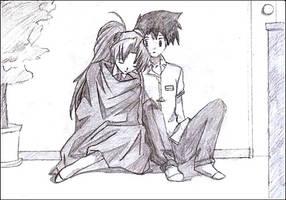 yuna and kazuki by demonic-blade