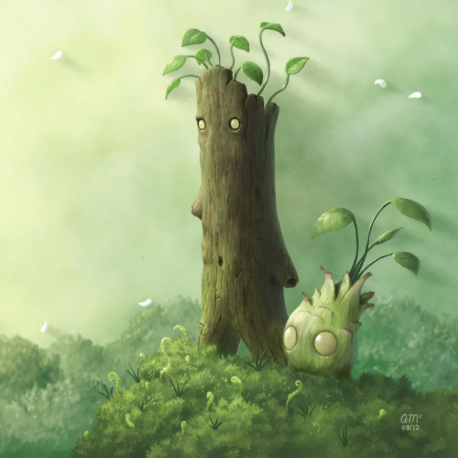Plant Folk by AndrewMcIntoshArt