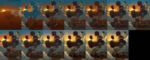 2011-08 - Way Up High - Process