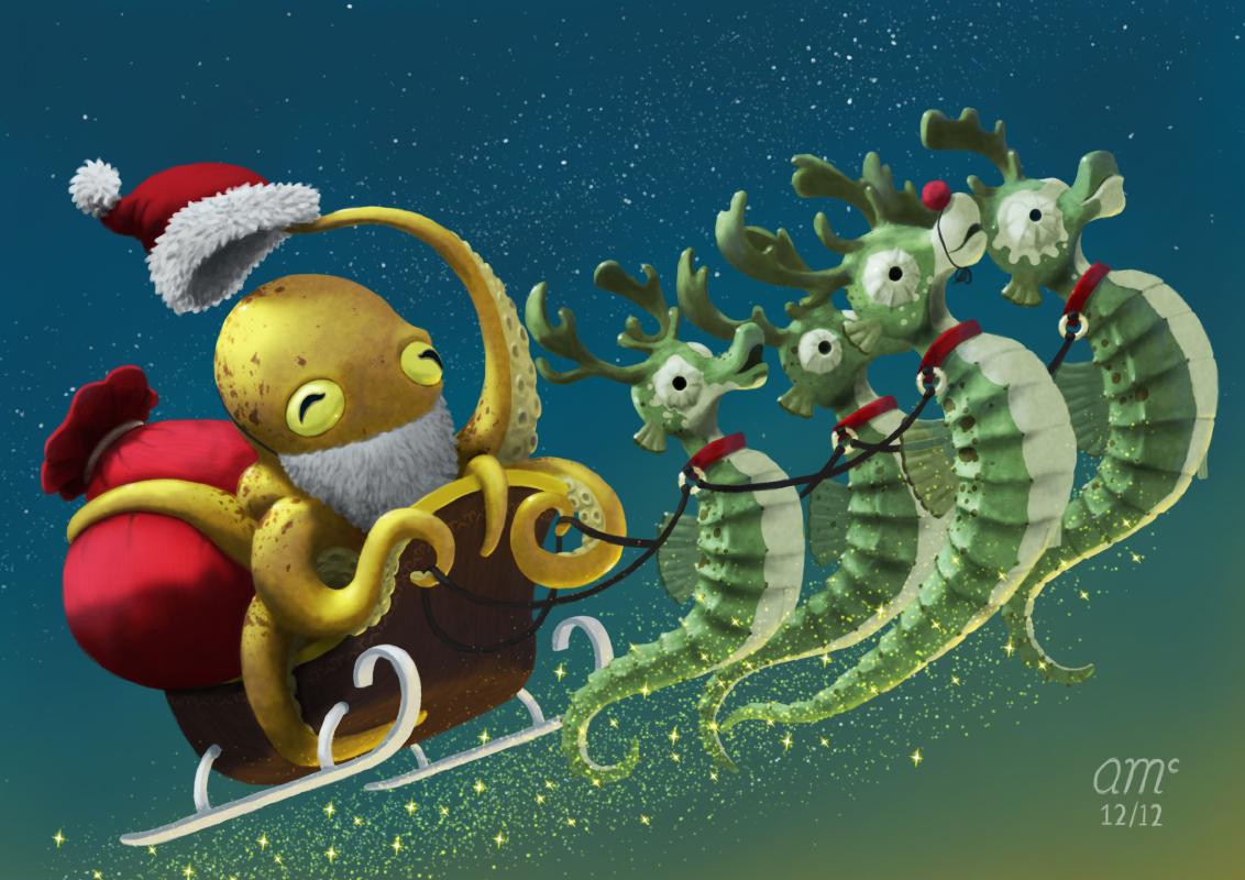 Christmas 2012 by AndrewMcIntoshArt