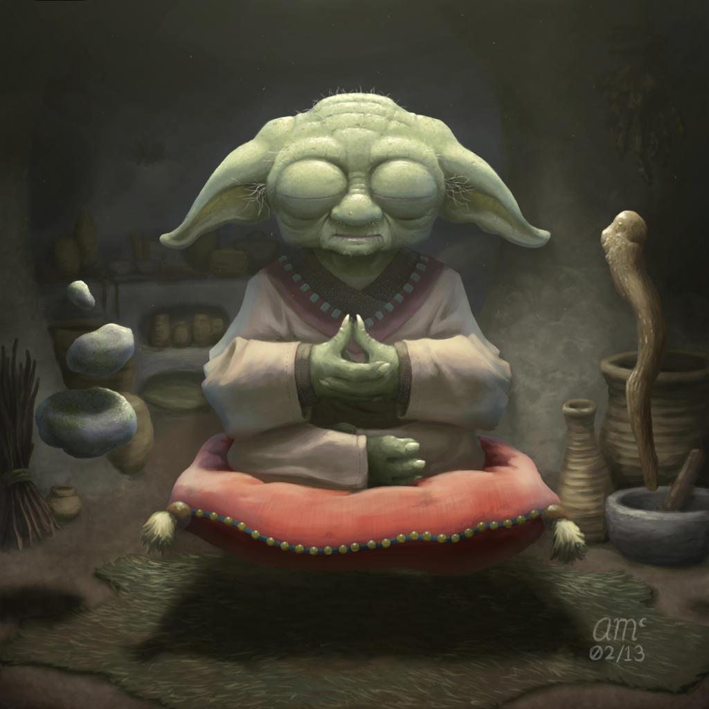 Yoda by AndrewMcIntoshArt