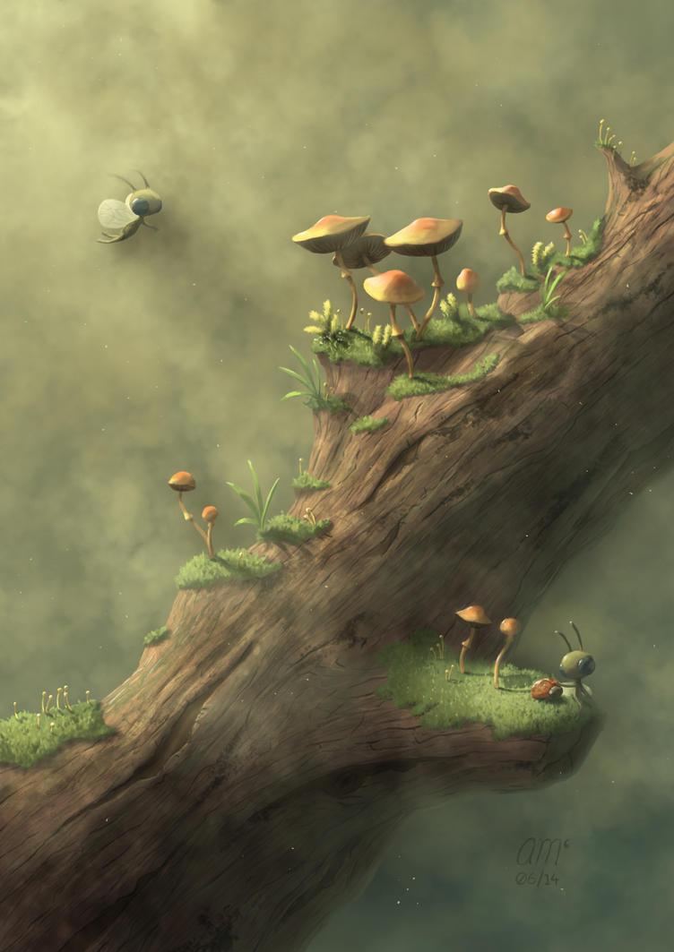 Tiny Life by AndrewMcIntoshArt