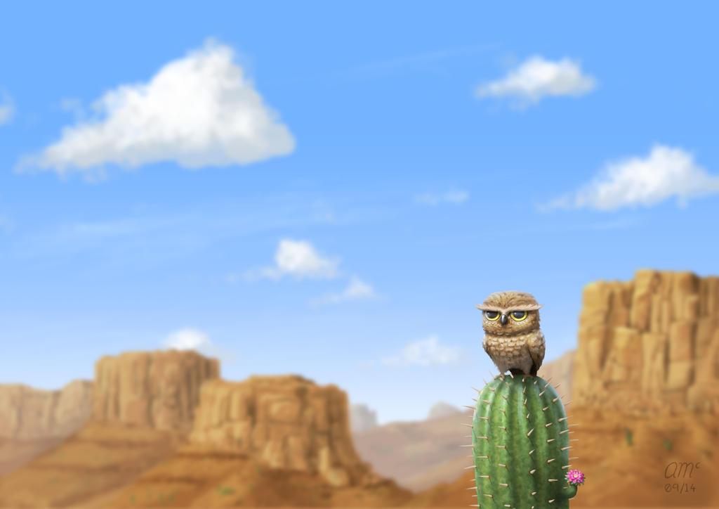 Cactus by AndrewMcIntoshArt
