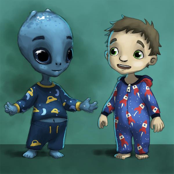 Eddie and Freddy by AndrewMcIntoshArt