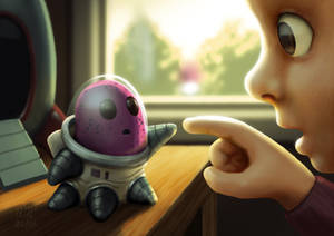 First Contact by AndrewMcIntoshArt