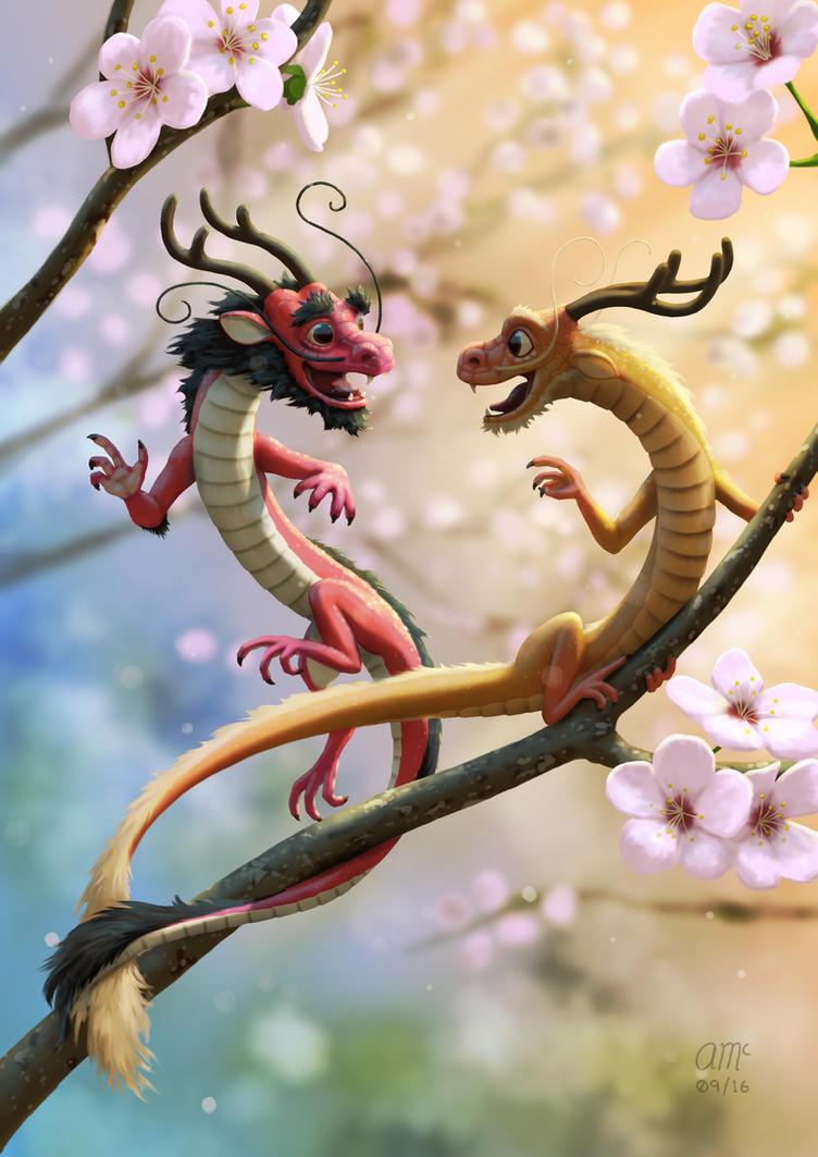 Hu and Tong by AndrewMcIntoshArt