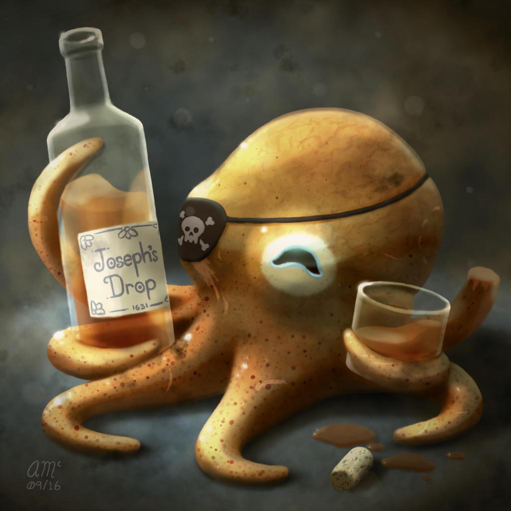 Rum by AndrewMcIntoshArt