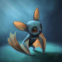 Bat by AndrewMcIntoshArt