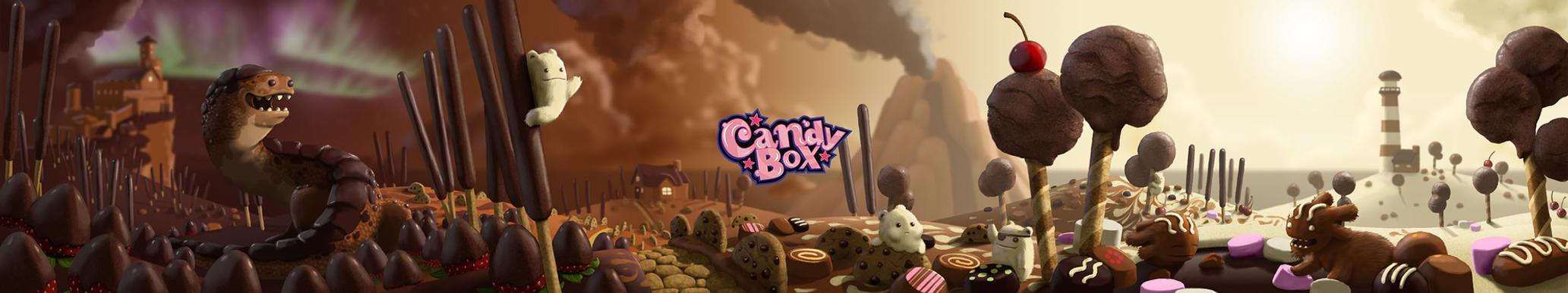 Candy Box - Website Background by AndrewMcIntoshArt