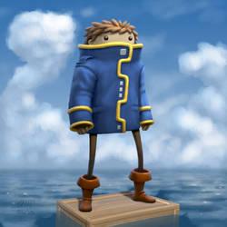 Peep - The Captain by AndrewMcIntoshArt