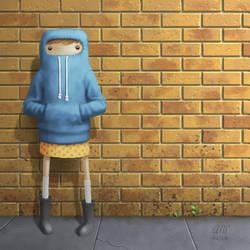 Peep - Shy by AndrewMcIntoshArt