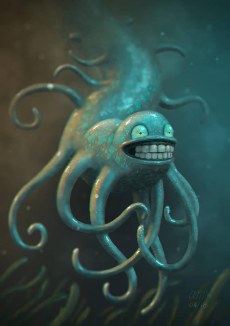 Creepy by AndrewMcIntoshArt