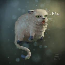 Mew by AndrewMcIntoshArt