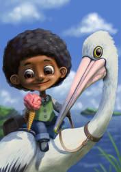 Pelican Rider