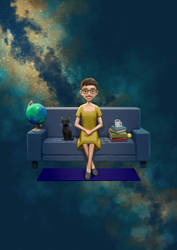 Lisa and Galactica