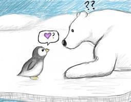 Penguin by Kaykuyo