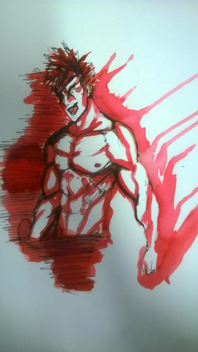 RED HOT FIRE by waazaa