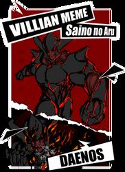 SNA Villain: Daenos