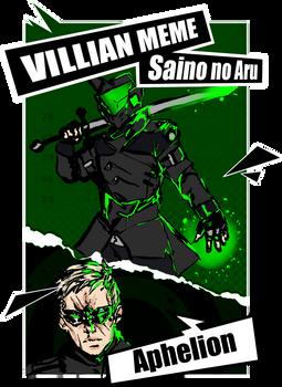 SNA Villain: Aphelion