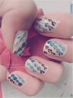 Cute nailart by LittleAndzia