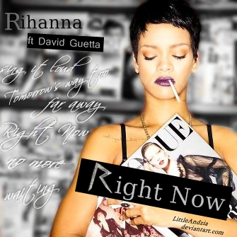 Rihanna right now cover