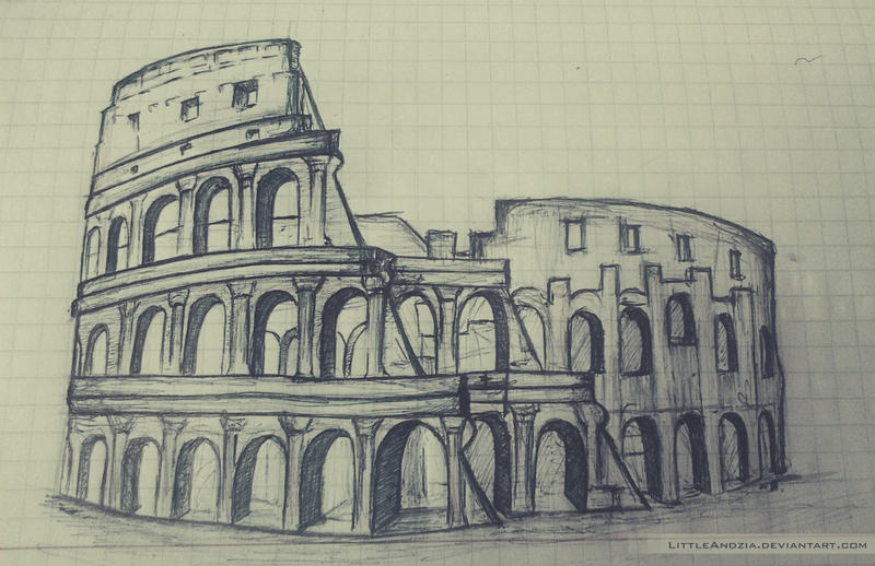 Colosseum by LittleAndzia