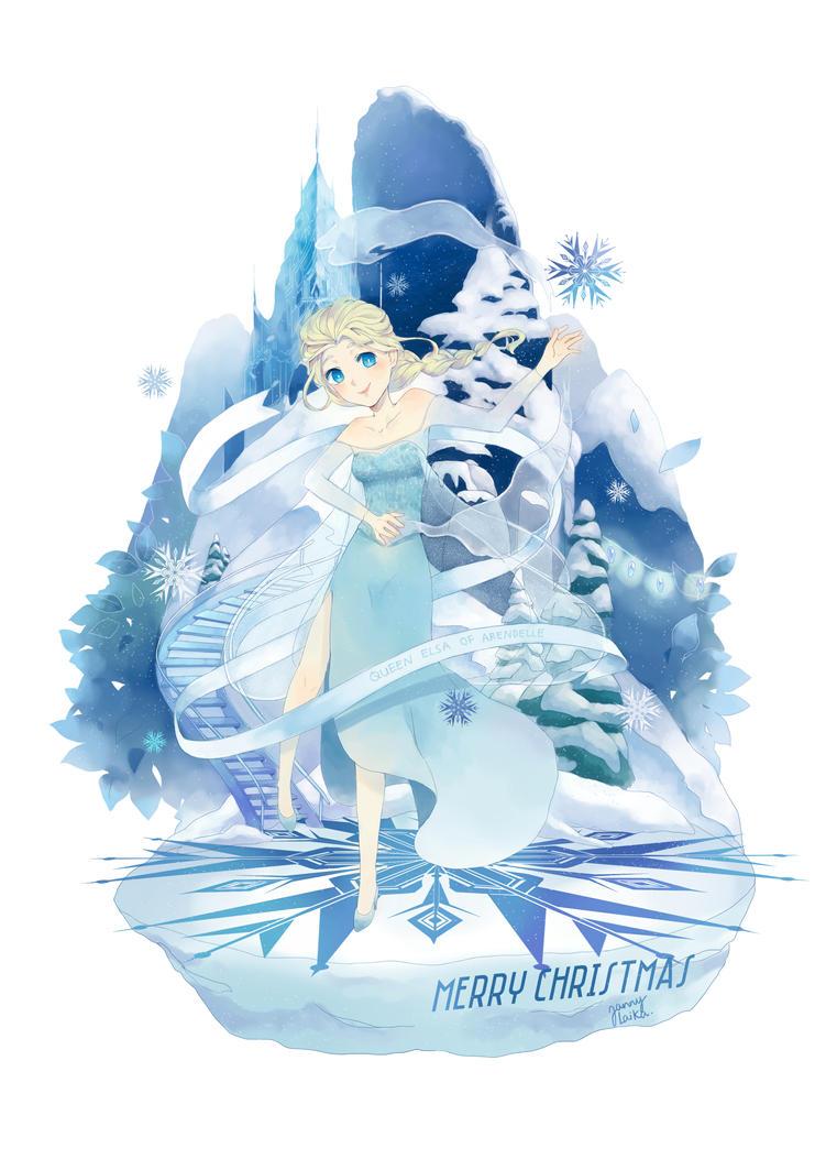 Elsa Frozen by janpancake