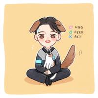Doggy Connor by janpancake