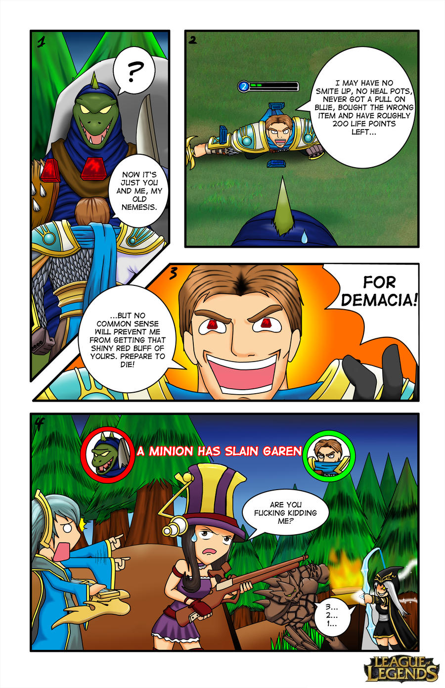 Lol comic by Liubei-Xuande