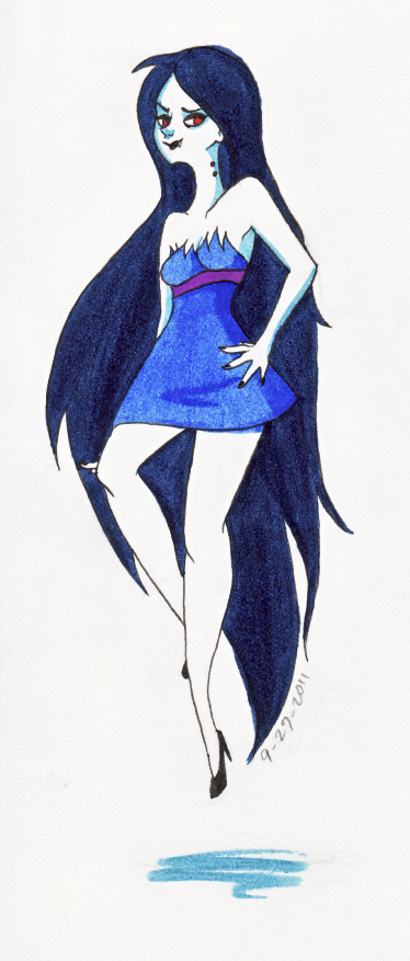 Marceline by ZoeStanleyArts