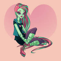 Venus McFlytrap  - Day 7
