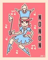 Retro Nonon by ZoeStanleyArts