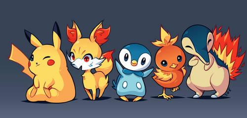 20 years of Pokemon! by ZoeStanleyArts