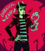 Diabolical Chip Fischer by ZoeStanleyArts
