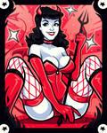 Bettie Page Devil