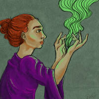 Green Smoke by KarolaIX