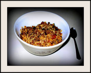 Dirty rice with sausage by FallisPhoto