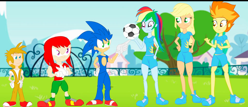 Boys vs Girls: Sonic Team vs Wondercolts! by UrhangrZerg on DeviantArt