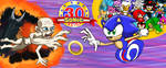 Sonic  30 YEAR franchises! Happy Birthday! by UrhangrZerg